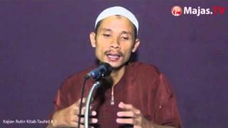 Kitabut Tauhid Syaikh Shalih A Fauzan #3